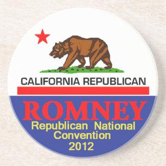 Romney CALIFORNIA Drink Coaster