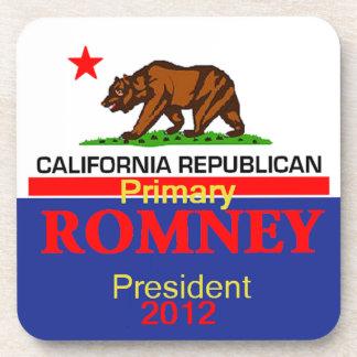 Romney CALIFORNIA Posavasos
