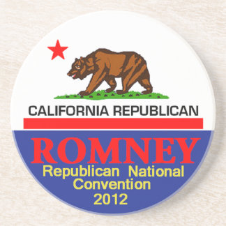 Romney CALIFORNIA Posavasos Cerveza