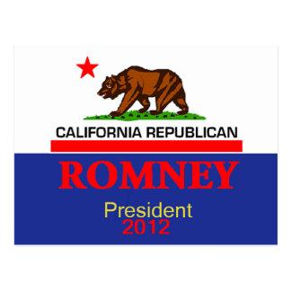 Romney CALIFORNIA Postcard
