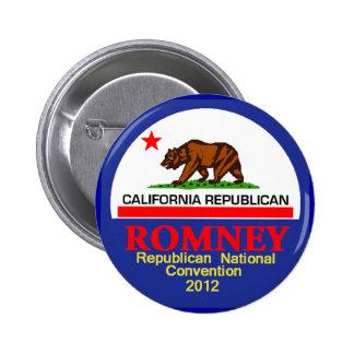 Romney CALIFORNIA RNC Button