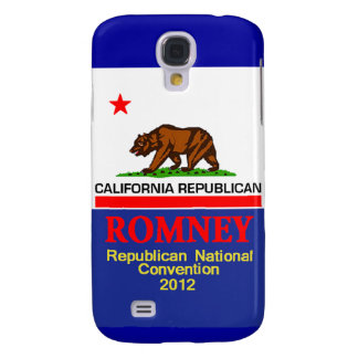 Romney CALIFORNIA RNC Funda Para Galaxy S4