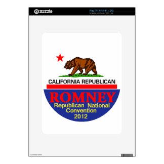 Romney CALIFORNIA RNC iPad Decal