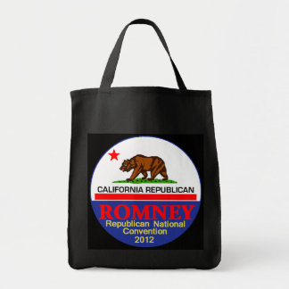 Romney CALIFORNIA Tote Bag