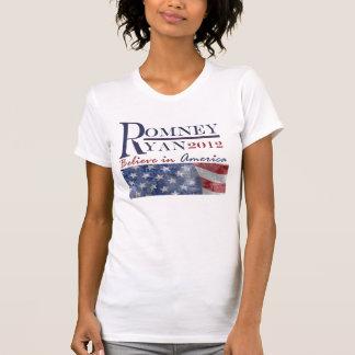 Romney - camiseta 2012 de Ryan