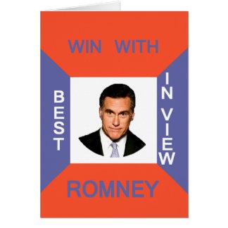 ROMNEY CARD