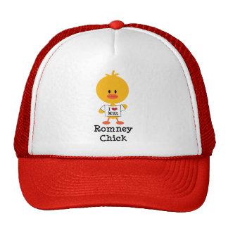 Romney Chick Hat I Heart Mitt