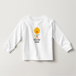 Romney Chick Toddler Long Sleeve Tee I Heart Mitt