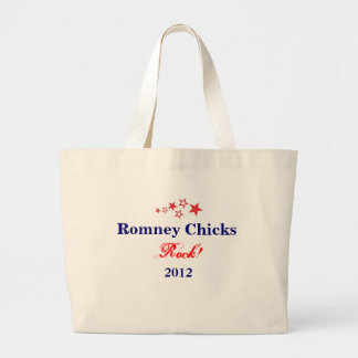 Romney Chicks Rock! Tote Bag