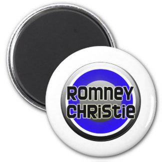 Romney Christie 2012 2 Inch Round Magnet