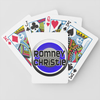 Romney Christie 2012 Bicycle Playing Cards