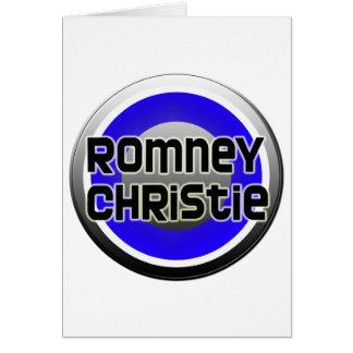 Romney Christie 2012 Card