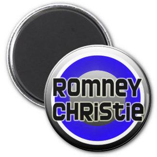Romney Christie 2012 Refrigerator Magnet