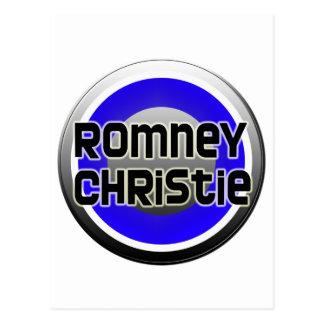 Romney Christie 2012 Postcard