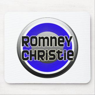 Romney Christie 2012 Alfombrillas De Raton