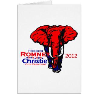 Romney Christie Card