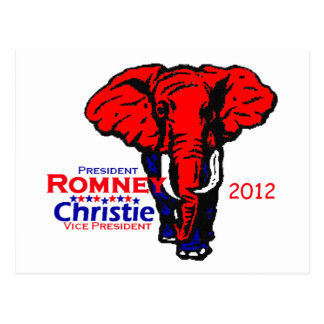 Romney Christie Postcard