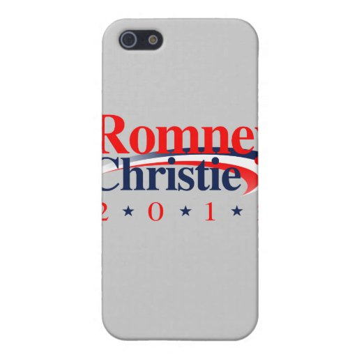 ROMNEY CHRISTIE VP SWEEP.png iPhone 5 Case