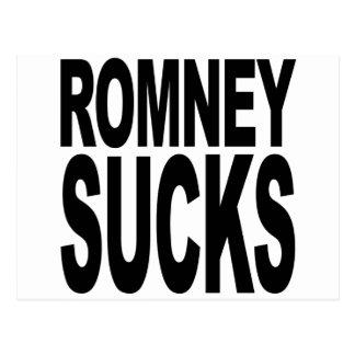 Romney chupa postal