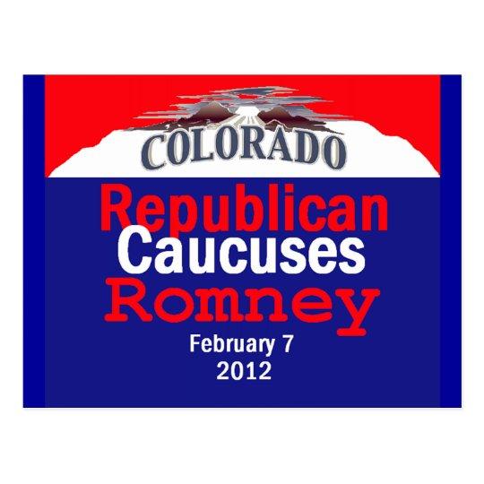 Romney Colorado Postcard