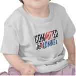 Romney confiado camisetas