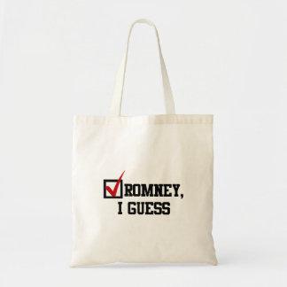 Romney conjeturo bolsa