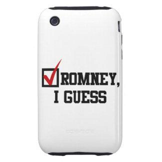 Romney, conjeturo iPhone 3 tough funda