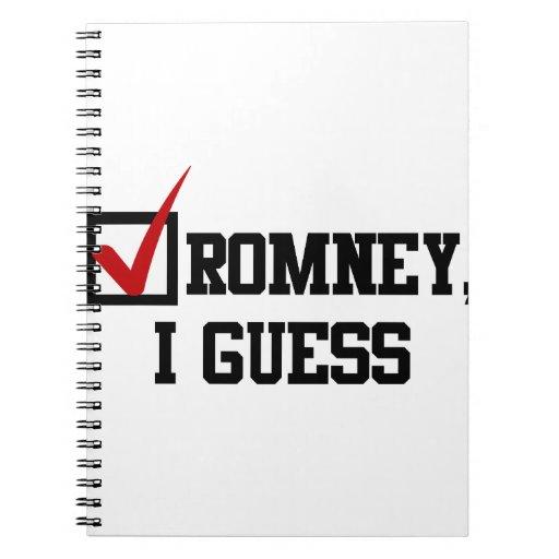 Romney, conjeturo libretas espirales