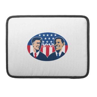 Romney contra las elecciones americanas 2012 de Ob Fundas Macbook Pro