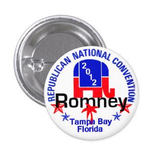 Romney Convention Pinback Button
