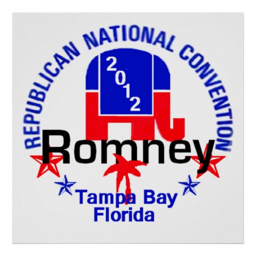 Romney Convention Poster