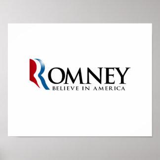 Romney - crea en América Impresiones