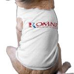 Romney - crea en América (roja) Ropa Macota