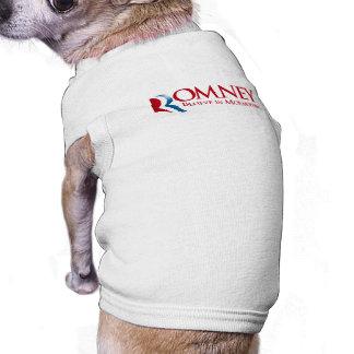 Romney - crea en Mormonism Ropa De Perros