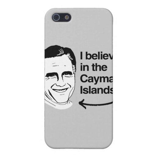 ROMNEY CREE EN LAS ISLAS CAIMÁN .PNG iPhone 5 CARCASAS