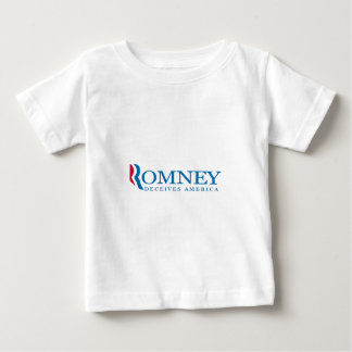 Romney Deceives America Baby T-Shirt