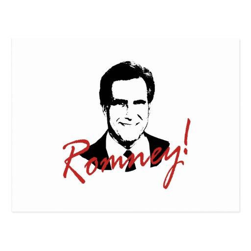 Romney dedicó la imagen postales