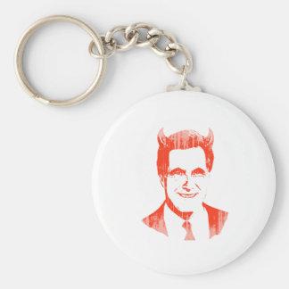 Romney Devil.png Basic Round Button Keychain