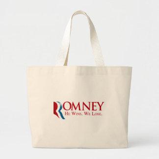 Romney - él gana. Perdemos Bolsas De Mano
