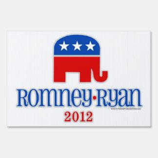 Romney elefante del patriota de Ryan