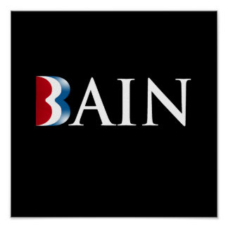ROMNEY ES BAIN png Posters
