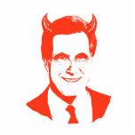 Romney es el diablo esculturas fotográficas