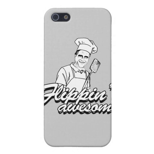 ROMNEY ES FLIPPIN AWESOME.png iPhone 5 Fundas