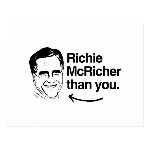 ROMNEY ES RICHIE MCRICHER QUE YOU.png Postal