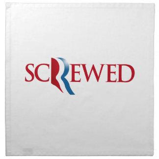 Romney es Screwed.png Servilleta De Papel