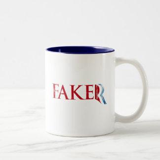Romney es un Faker.png Taza