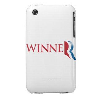 ROMNEY ES UN GANADOR iPhone 3 Case-Mate CÁRCASAS