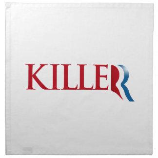 Romney es un Killer.png Servilleta