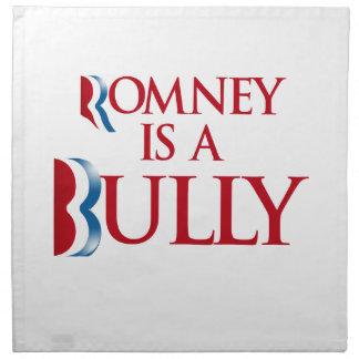 Romney es un matón - .png servilletas