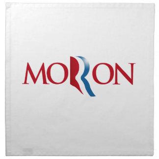 Romney es un Moron.png Servilletas De Papel
